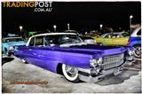 Cadillac Coupe DeVille 1963 Low Rider Airbags Shaved Doors Custom Trim 63 Caddy