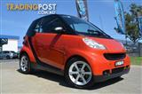 2007  SMART FORTWO COUPE 451 2D COUPE