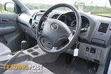 2011 TOYOTA HILUX SR GGN15R MY11 UPGRADE DUAL CAB P/UP