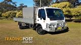 Isuzu Tradepack NPR truck with toolboxes, ready for work