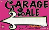 ROSELANDS GARAGE SALE - Sunday 11th Dec 9am ... most items under $5 !!!