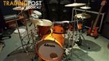 Ddrum Kit with Paiste Cymbals and DW snare.