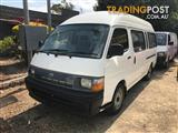 1997  TOYOTA HIACE COMMUTER LH125R BUS