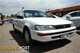 1996 Toyota Corolla Conquest AE102X Sedan