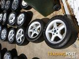 HOLDEN COMMODORE VT SPORT ALLOY WHEELS & TYRES