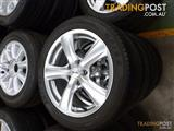 AMG 17 Inch Alloy Rims and Tyres