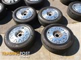 HOLDEN VQ CAPRICE GENUINE ALLOY WHEELS & TYRES