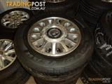 Holden VR Statesman Genuine Alloy Wheels and Tyres
