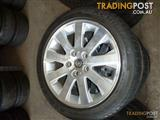 WK Caprice 2004 Alloy Wheels and Tyres