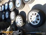 HOLDEN VT SERIES II CALAIS GENUINE ALLOY WHEELS & TYRES