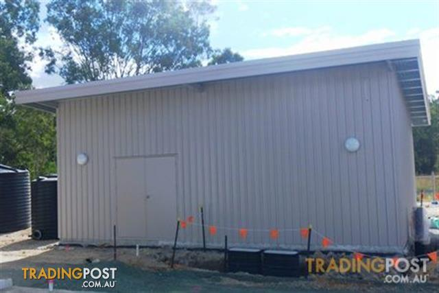 Flat Roof Shed For Sale In Ormeau Qld Flat Roof Shed