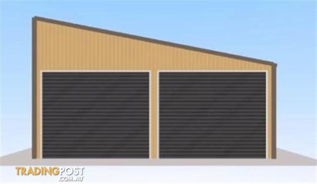 Flat Roof Shed for sale in Ormeau QLD | Flat Roof Shed