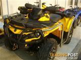 2010 CAN-AM OUTLANDER 650CC 650 4X4 XT ATV
