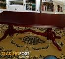Coffee Table Large Mahogany Solid Timber Excellent Condition