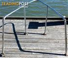 stainless steel bow handrails for yacht