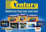CENTURY BATTERIES QUALITY AUSTRALIAN MADE UP TO 36 MONTHS NATIONWIDE WARRANTY