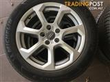 """Brand New 17"""" alloy wheels with Michelin primacy tyres set of 4"""