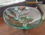 Decorative Glass serving Bowl