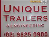 BOX TRAILERS ALL SIZES UNIQUE TRAILERS