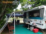 POP UP camping caravan