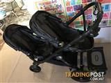 Baby Jogger City Select Pram with Glider Board (Charcoal)