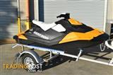 2014 Seadoo Spark with trailor and accessories