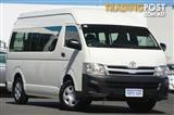 2011 Toyota Hiace Commuter High Roof Super LWB KDH223R MY11 Bus