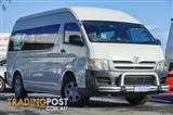 2006 Toyota Hiace Commuter High Roof Super LWB TRH223R Bus