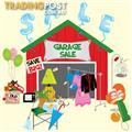 Garage Sale - Ashgrove, Brisbane - Saturday 21 May - 6am to 11am