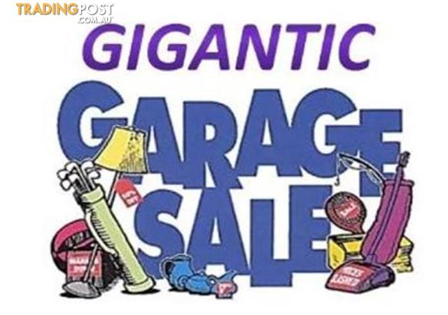 SYDNEY's biggest GARAGE SALE: 20 years of STUFF to SELL!