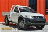 2009 Mitsubishi Triton GLX ML MY09 Cab Chassis
