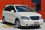 2011 Ssangyong Stavic  A100 MY08 Wagon
