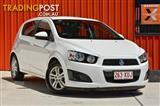 2012 Holden Barina CD TM MY13 Hatchback