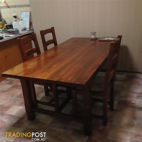 Dining Table And Chairs Matching TV Unit