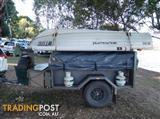 Heavy Duty Off -road Camper Trailer