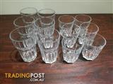 Set of drinking glass