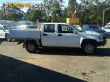 2008 Holden Colorado 4x4 Tray back LX Dual Cab