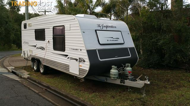 "2009 19'6"" Crusader Inspiration Semi Off Road Caravan with many Extras"