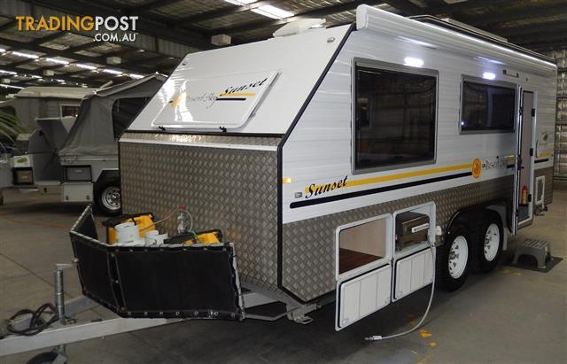 2013 20'  DESERT SKY  OFF ROAD CARAVAN