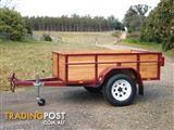 Timber Lined Box Trailer