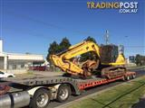 2006 Sumitomo SH210LC-5 with Grab and Hydraulic Magnet Generator