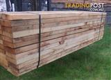 Durable Hardwood Timber Landscape Garden Sleepers