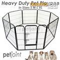 Heavy duty Pet Dog Playpen Kennel Run Puppy Fence Enclosure cage