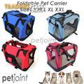 S M L Portable Soft Pet Dog Cat Carrier Travel Cage Crate Kennel3