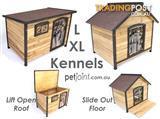 Extra Large Pet Kennel for Big Huge Dog Timber Wooden House Home