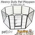 Heavy duty Pet Dog Playpen Kennel Run Puppy Fence Enclosure cage www.petjoint.com.au