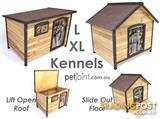 Large Pet Kennel for Extra Big Huge Dog Timber Wooden House Home [pj2] PetJoint.com.au