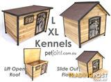 Large Pet Kennel for Extra Big Huge Dog Timber Wooden House Home