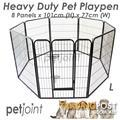 HeavyDuty Pet PlayPen Puppy Dog Fencing Cage Enclosure Kennel Run