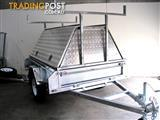 TRADESMAN ALUMINIUM TOP +TRAILER GALVANISED 7X5
